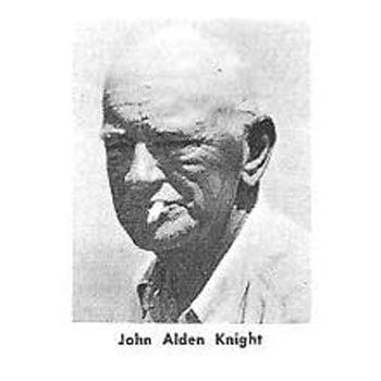 John Alden Knight creador el la Teoría Solunar aplicada a la pesca