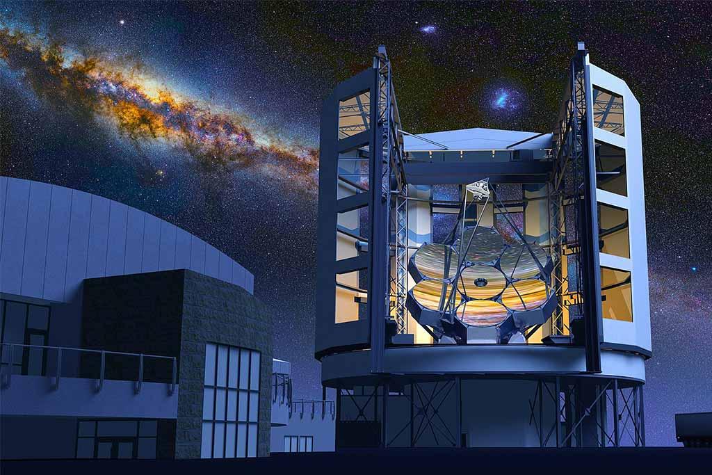 Observatorio Astronómico de Magallanes [ Calendario Lunar de Chile]