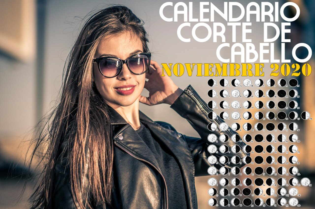 Calendario para el Corte de pelo Noviembre de 2020