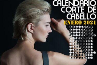 Calendario para el Corte de pelo enero de 2021