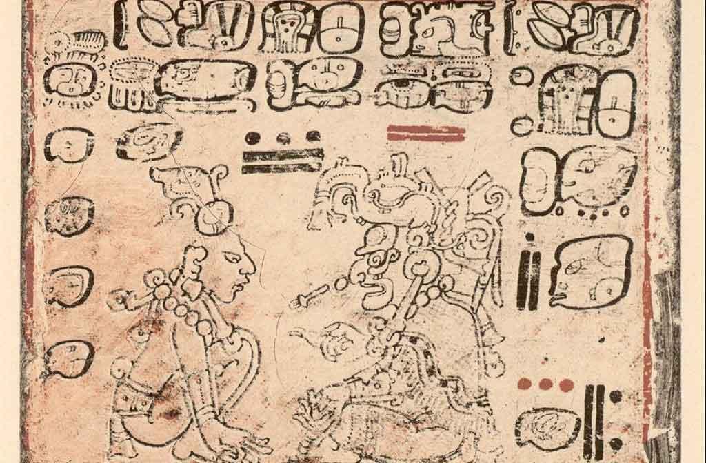 Calendario Maya de Desde (Recorte)