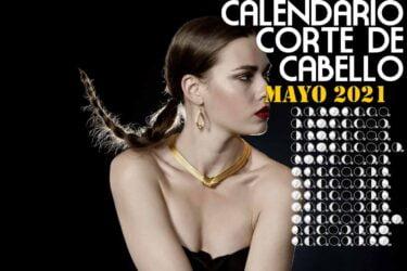 Calendario Corte de pelo mayo de 2021