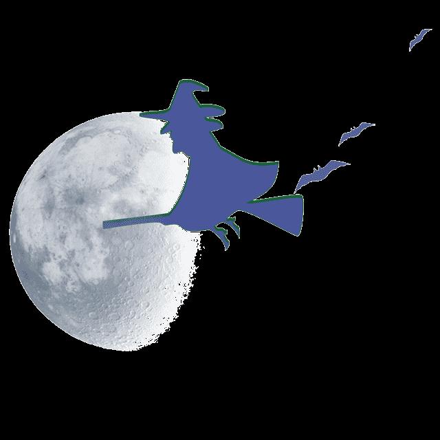 Luna Azul en Halloween 2020