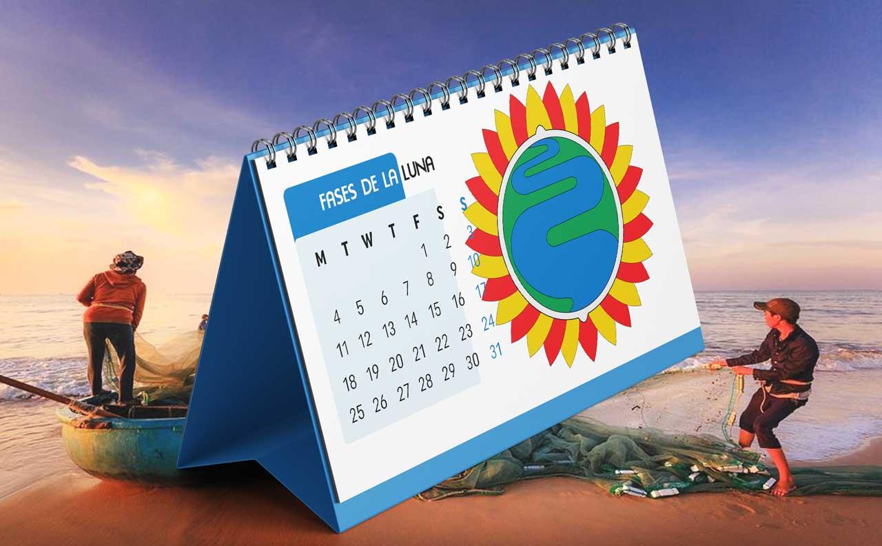 Portada Calendario Lunar de Pesca para Amazonas (Colombia)