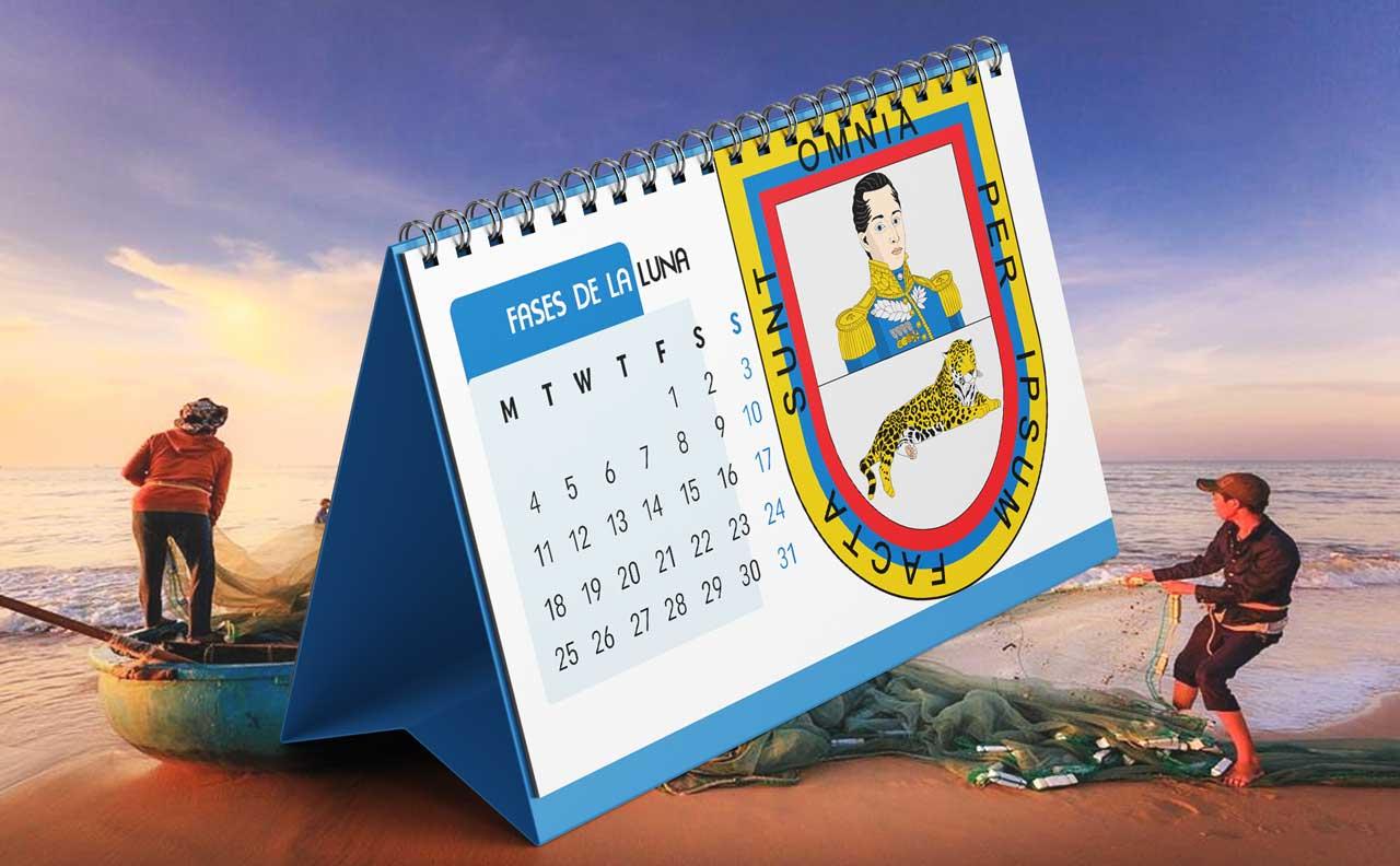 Portada Calendario Lunar de Pesca para Córdoba (Colombia)