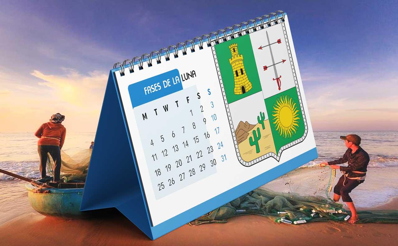 Portada Calendario Lunar de Pesca para La Guajira (Colombia)