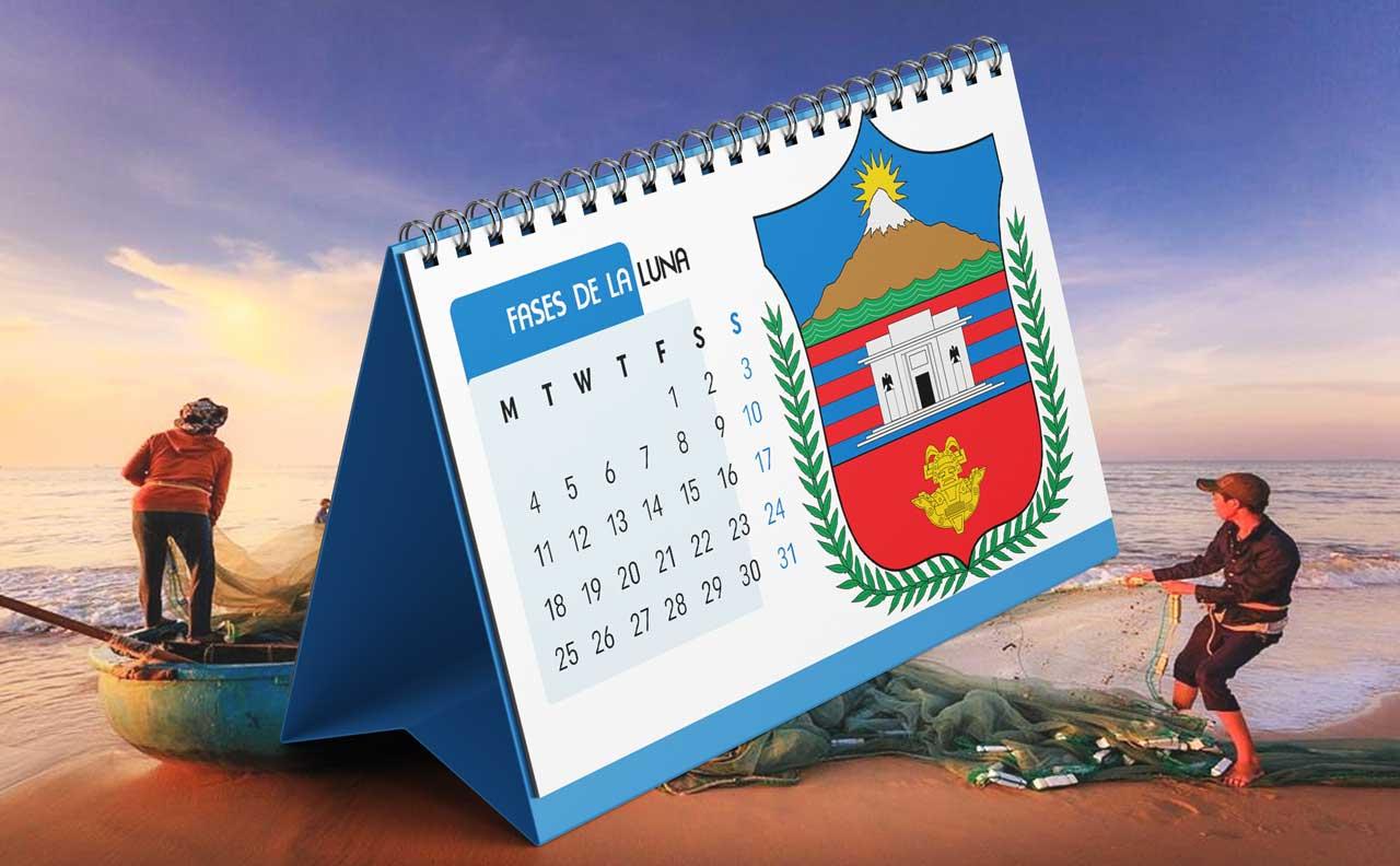 Portada Calendario Lunar de Pesca para Magdalena (Colombia)