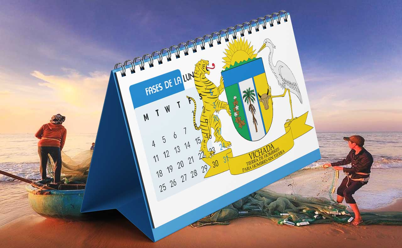 Portada Calendario Lunar de Pesca para Vichada (Colombia)