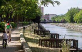 Pesca en Madrid. Rio Manzanares