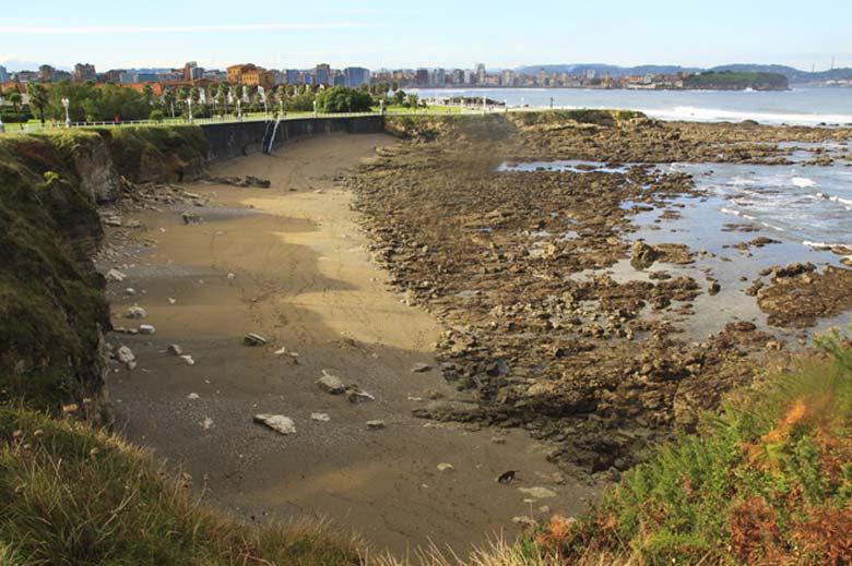 mareas de Playa Cervigón
