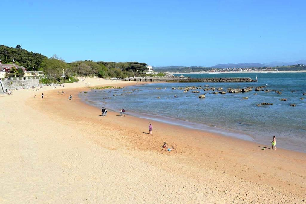 mareas de Playa Los Biquinis