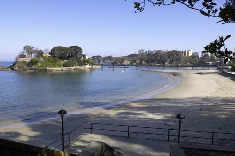 mareas de Playa Santa Cruz de Oleiros