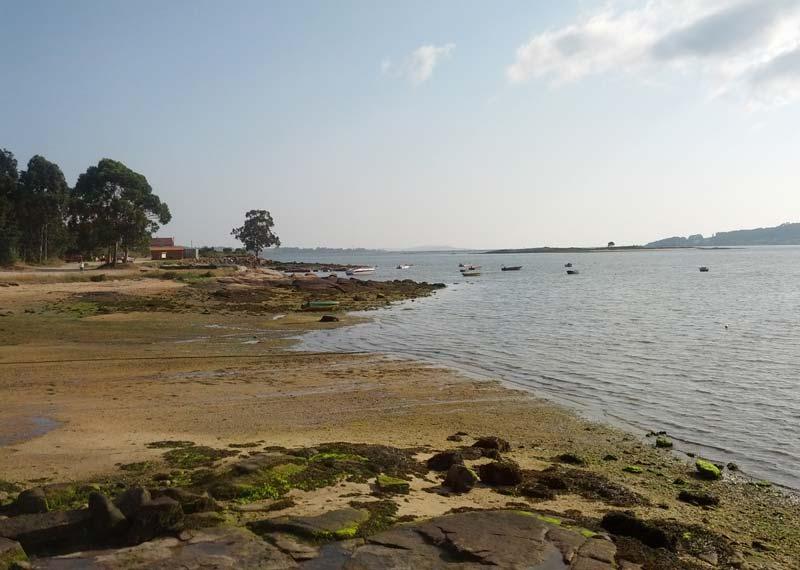 mareas de Playa Sartaxes