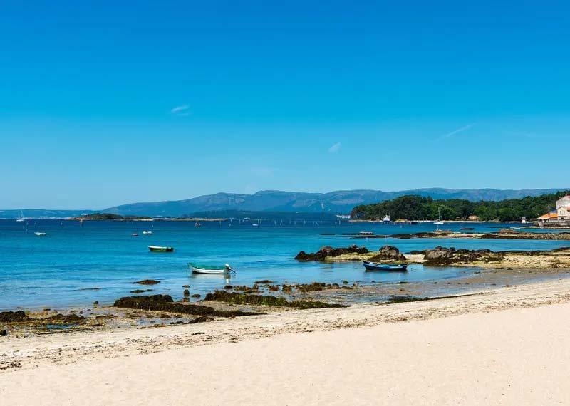 mareas de Playa Vilagarcía