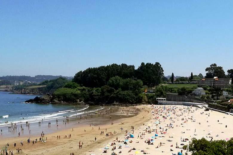 mareas de Playa de Bastiagueiros