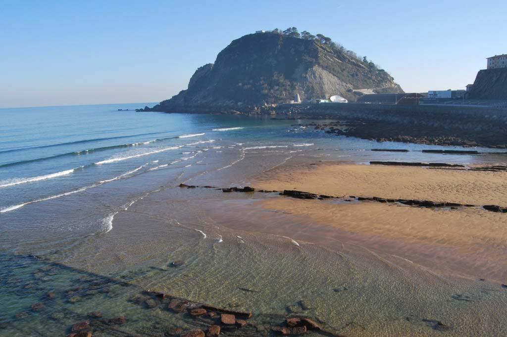 mareas de Playa de Gaztetape