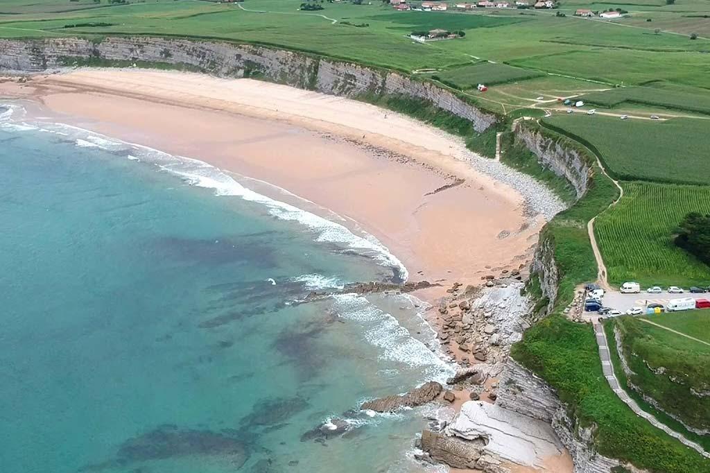 mareas de Playa de Langre