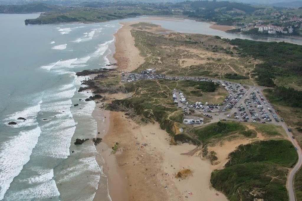 mareas de Playa de Valdearenas
