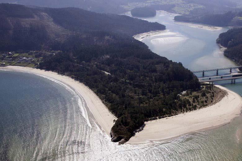 mareas de Praia Area Longa