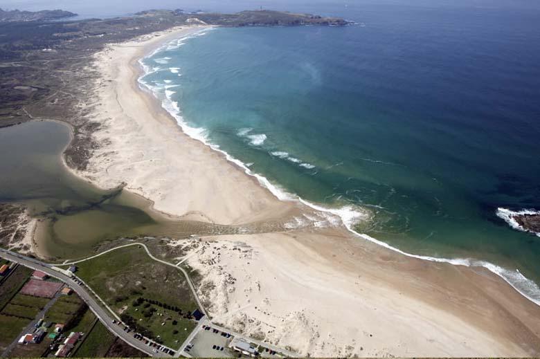 mareas de Praia da Frouxeira