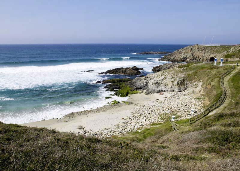 mareas de Praia de Repibelo