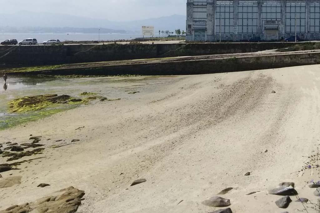 mareas de Praia do Salgueirón