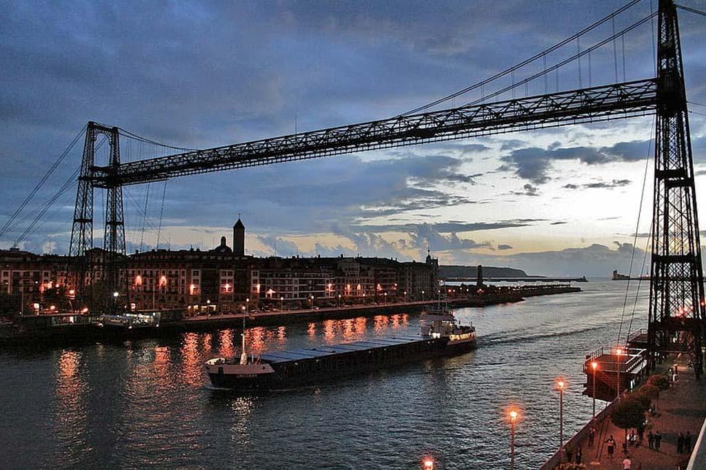 Mareas de Bilbao. Imagen de la Ría de Bilbao.