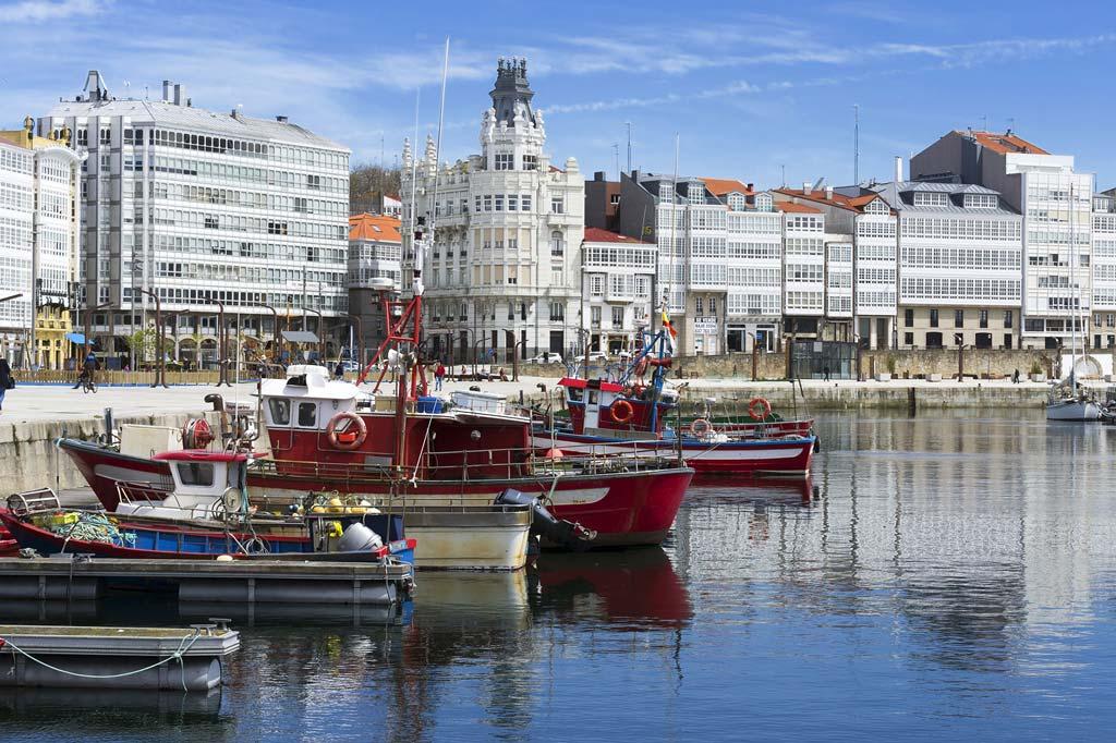 Mareas de Coruña