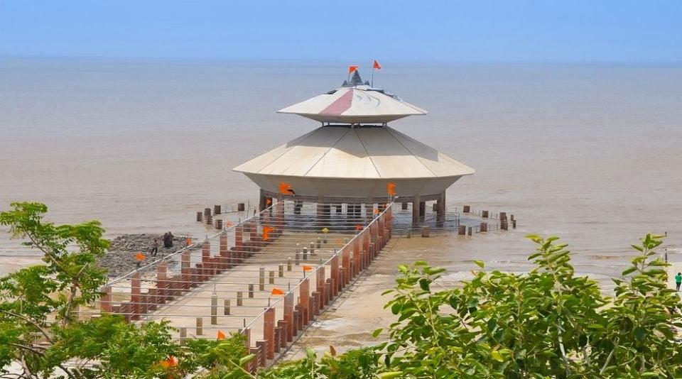 Marea Alta. Stambheshwar Mahadev Temple-India-