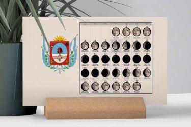 Calendario con Lunas de la Provincia de Catamarca