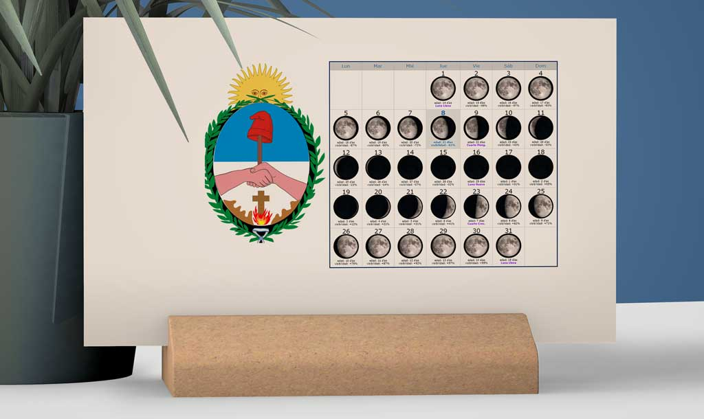 Calendario con Lunas para la Pesca en la provincia de Corrientes
