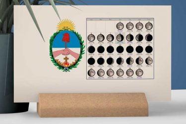 Calendario con Lunas de la Provincia de Corrientes