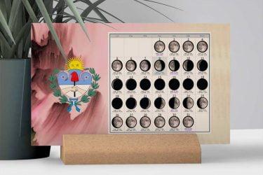 Calendario con Lunas de la Provincia de Jujuy