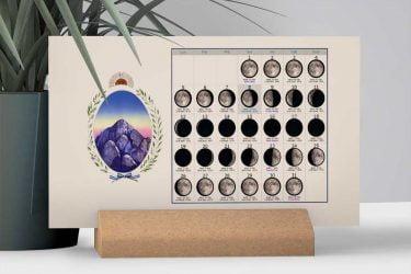 Calendario con Lunas de la Provincia de La Rioja