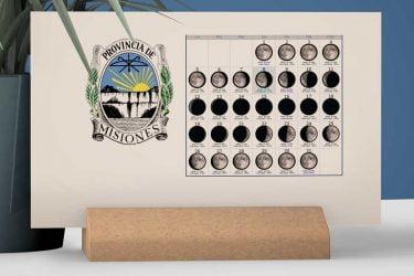 Calendario con Lunas de la Provincia de Misiones