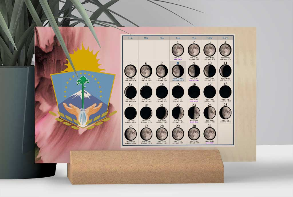 Calendario con Lunas para la Pesca en la provincia de Neuquén