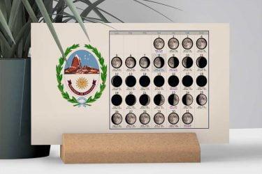 Calendario con Lunas de la Provincia de Santa Cruz