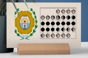 Calendario con Lunas de la Provincia de Santa Fe