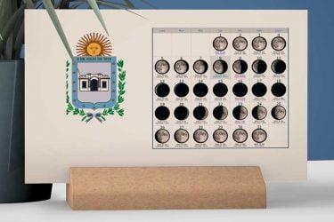 Calendario con Lunas de la Provincia de Tucumán