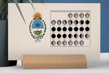 Calendario con Lunas de la Provincia de Chaco