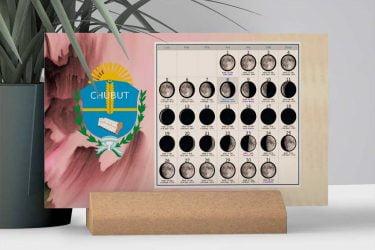 Calendario con Lunas de la Provincia de Chubut