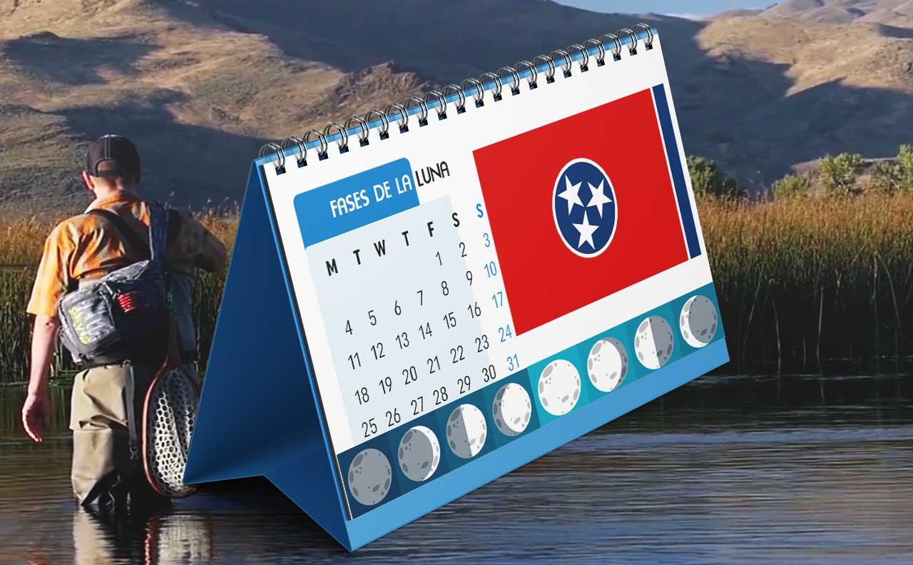 Tabla solunar para la pesca en Tennessee