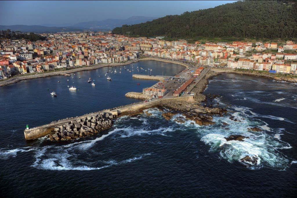 Mareas Puerto de A Guarda, Vista general del Puerto