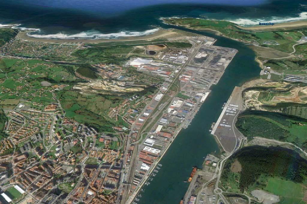 Mareas Puerto de Avilés, Vista general del Puerto