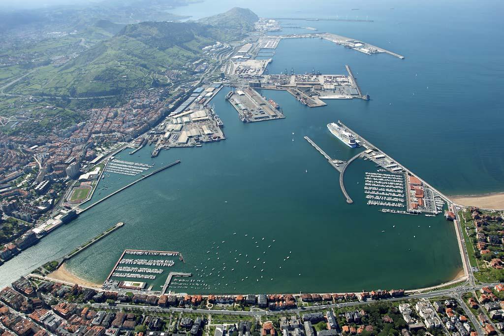 Mareas Puerto de Bilbao, Vista general del Puerto