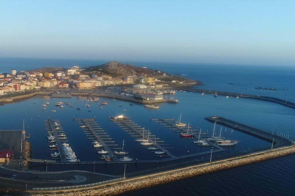 Mareas Puerto de Camariñas, Vista general del Puerto