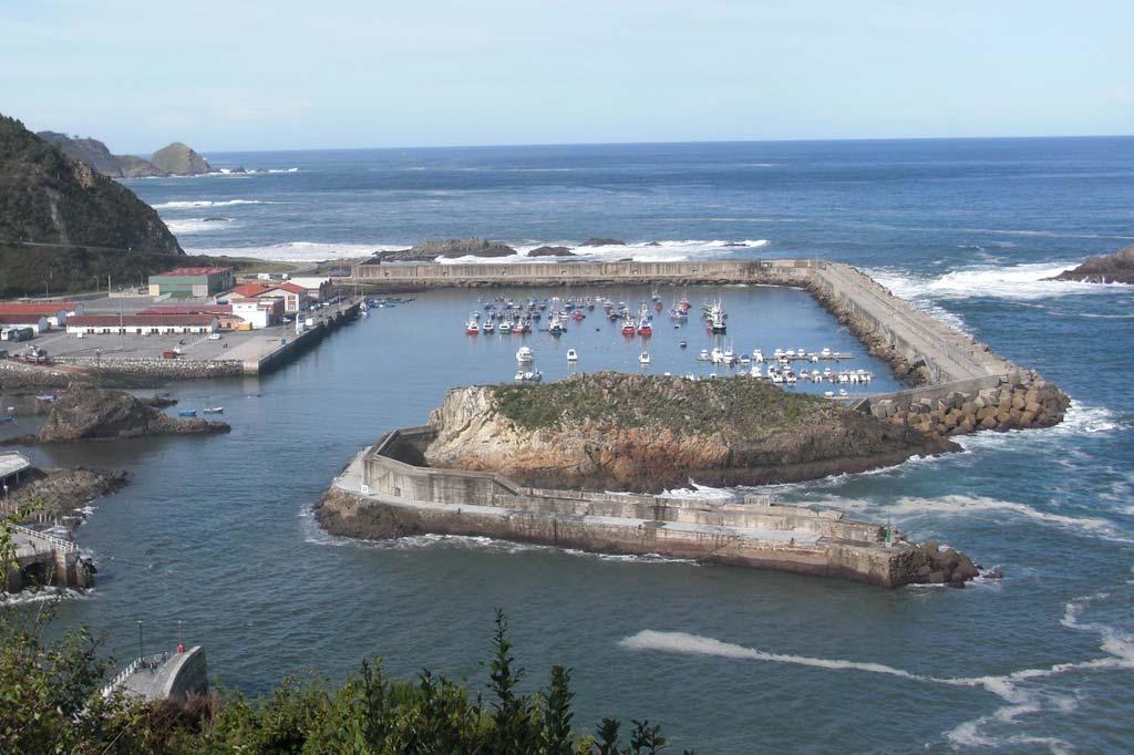 Mareas Puerto de Cudillero, Vista general del Puerto