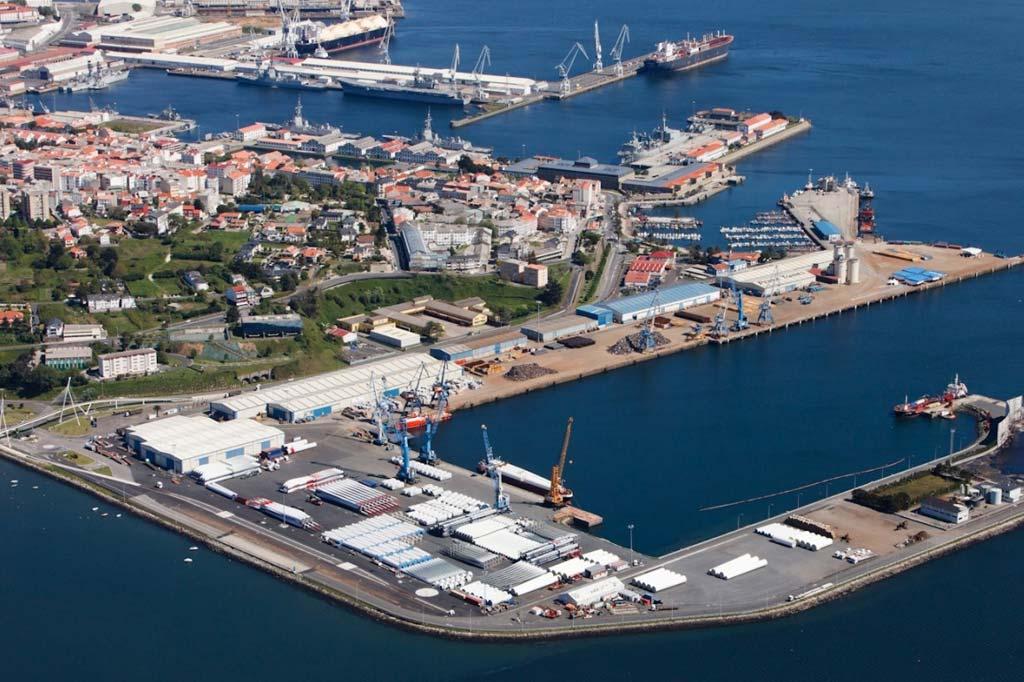 Mareas Puerto de Ferrol, Vista general del Puerto