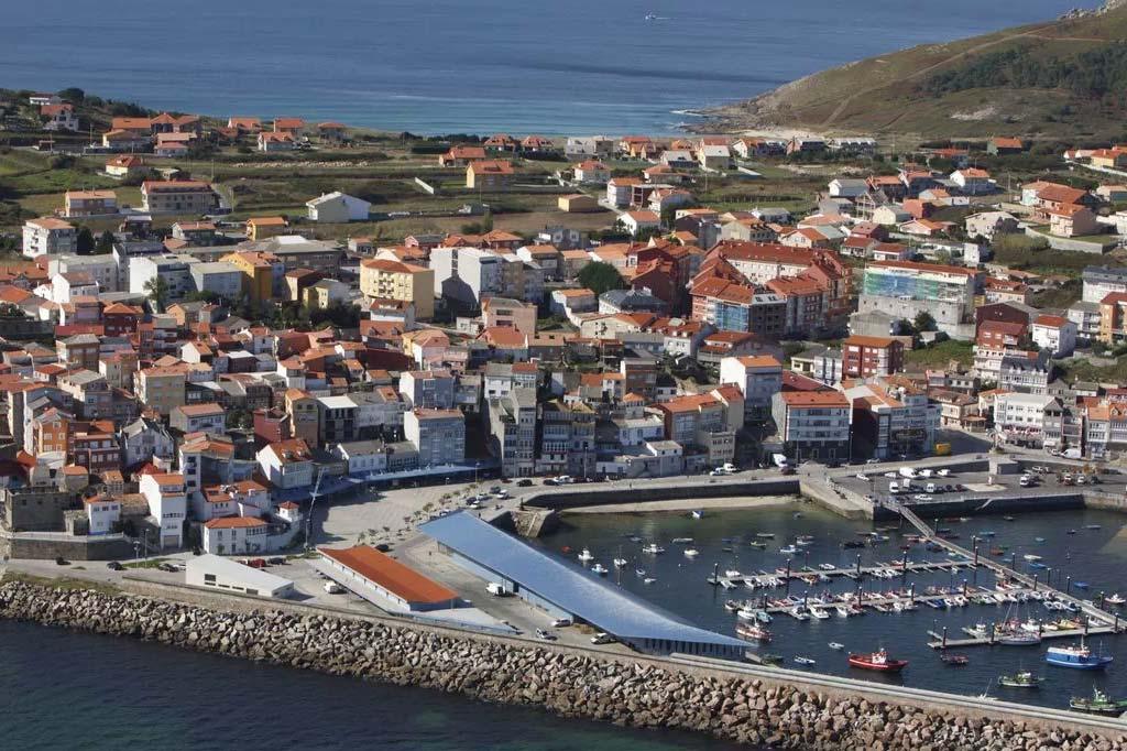 Mareas Puerto de Fisterra, Vista general del Puerto