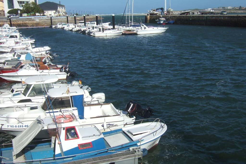 Mareas Puerto de Foz, Vista general del Puerto